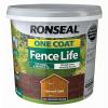 Ronseal One Coat Fence Life 5 Litre Harvest Gold