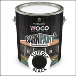 Woco Barn Paint Suffolk Black 1