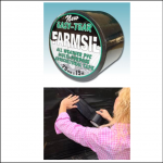 Farmsil 75mm Black Silage Bag Repair Tape