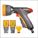 Hozelock 2371 Multi Spray Pro Gun with Fittings 1