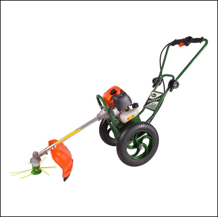 Portek RufCut Wheeled Brushcutter & Heavy Duty Strimmer 1