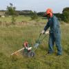 Portek RufCut Wheeled Brushcutter & Heavy Duty Strimmer 2