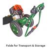 Portek RufCut Wheeled Brushcutter & Heavy Duty Strimmer 6