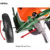Portek RufCut Wheeled Brushcutter & Heavy Duty Strimmer 7