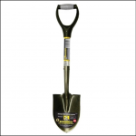 Roughneck Round Point Micro Shovel