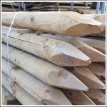 Wooden Round Fence Posts 1.65m x 7.5cm