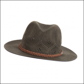 Barbour Ladies Flowerdale Hat Olive Green 1
