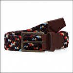 Barbour Ford Woven Belt Navy Mix 1