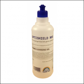 EXOL Optishield Neat Hand Sanitiser Gel 500ml