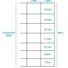 Galvanised Stock Fencing C8/80/15 100M Roll 2