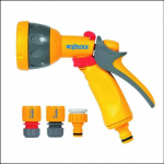 Hozelock 2347 Compact Multi Spray Gun with Fittings 1