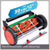"Multi-Sharp Cylinder Mower Sharpener 30cm /12"" Cutting Width"