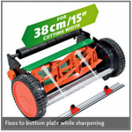 "Multi-Sharp Cylinder Mower Sharpener 38cm /15"" Cutting Width"
