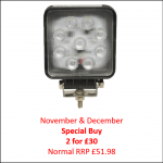 Sparex 1840 LED Work Light Nov-Dec Special Buy