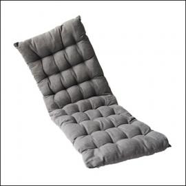 Ascalon Pale Grey Bench Seat Cushion Pad 1