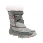 Regatta Kids Snow Cadet Boots Dark Steel-Pop