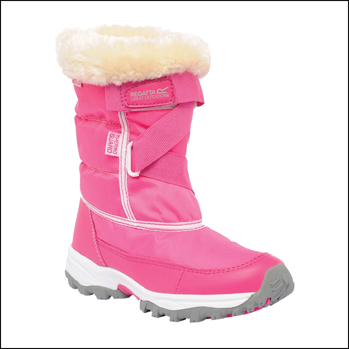 Regatta Kids Snow Cadet Boots Jem-White