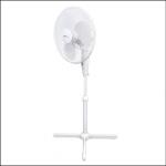 StayCool 16inch Oscillating White Pedestal Fan 1