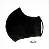 Washable Face Mask Double Layer Polycotton Black