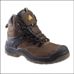 Amblers FS197 Waterproof Brown Leather Safety Boot S3 WR