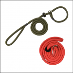 Bisley Basic 8mm Braided Slip Lead Green & Red
