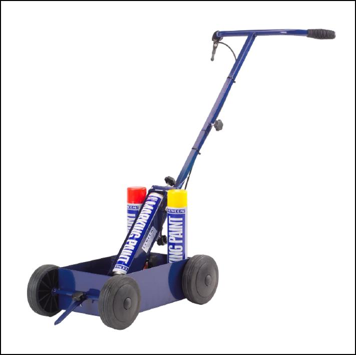Bowliner 4 Wheel Hard Surface Line Marker