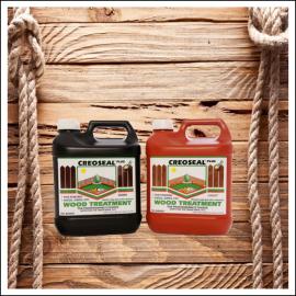 Creoseal Plus Wood Treatment 4 Litre (Light & Dark Brown)