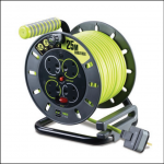 Masterplug Pro-XT 13A Open Cable Reel 25m 1