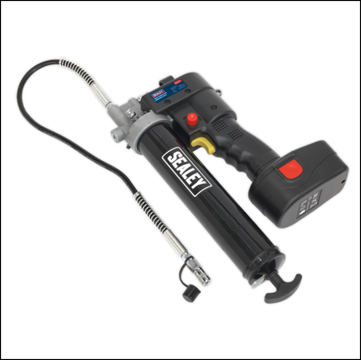 Sealey CPG18V Cordless Grease Gun with Battery & Charger 1