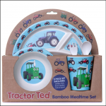 Tractor Ted Bamboo Mealtime Set 1