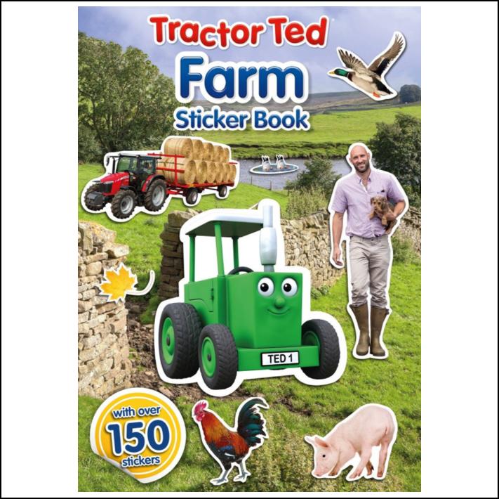 Tractor Ted Farm Sticker Book