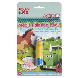 Tractor Ted Magic Painting Book - Animals
