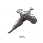 Bisley Pewter Country Bird Lapel Pin Badges 1