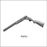 Bisley Pewter Shooting Themed Lapel Pin Badges 31