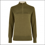 Dubarry Carroll Knitted Sweatshirt Dusky Green 1