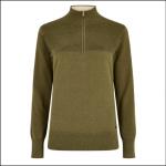Dubarry Carroll Knitted Sweatshirt Dusky Green 1