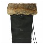 Dubarry Faux Fur Boot Liners Chinchila 1