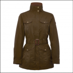 Dubarry Friel Ladies Utility Jacket Olive 1
