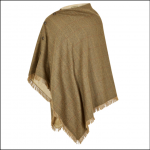 Dubarry Hazelwood Tweed Poncho Elm 1