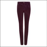 Dubarry Honeysuckle Ladies Pincord Jeans Plum 1