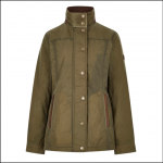Dubarry Mountrath Ladies Waxed Jacket Dusky Green 1