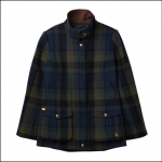Joules Tweed Fieldcoat Green-Blue Check 1