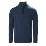 Musto Country Zip Neck Knit Dark Cobalt 1
