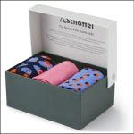 Schoffel Boxed Bamboo Socks (4-7) Dusky Pink Mix 1