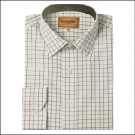 Schoffel Burnham Tattersall Classic Shirt River Bed 1