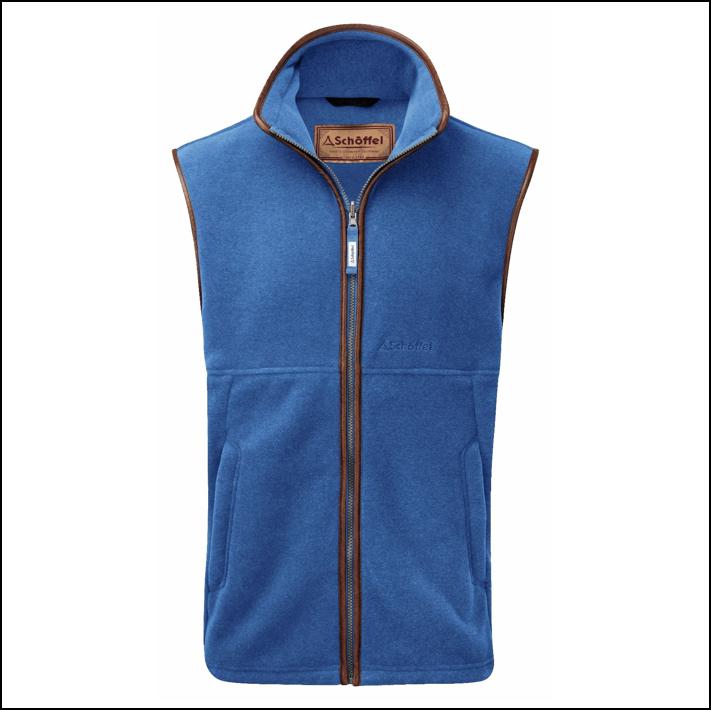 Schoffel Oakham Fleece Gilet Colbalt Blue 1