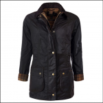 Barbour Beadnell Ladies Waxed Jacket Rustic 1