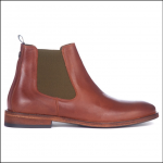 Barbour Bedlington Leather Chelsea Boots Tan 1