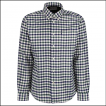 Barbour Country Check 3 Tailored Shirt Olive 1