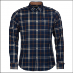 Barbour Highland Check 20 Tailored Shirt Blue 1